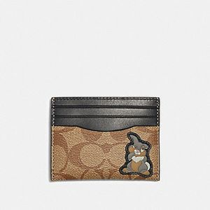 NEW Coach Disney Thumper Cardholder